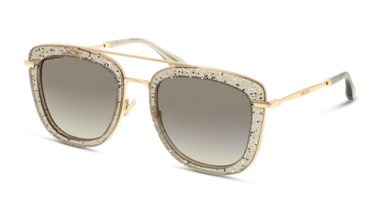 Glossy Women's Sunglasses Grey / Gold