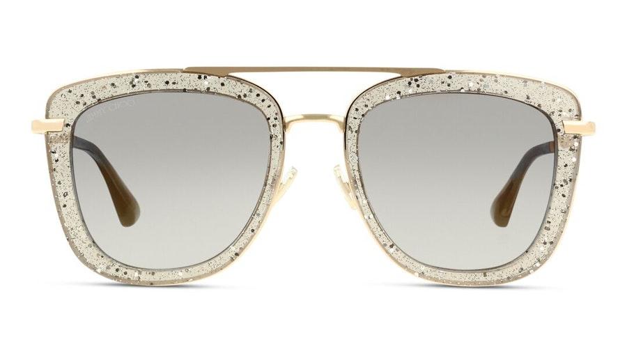 Jimmy Choo Glossy Women's Sunglasses Grey / Gold