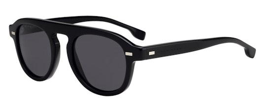 BOSS 1000/S Men's Sunglasses Grey / Black
