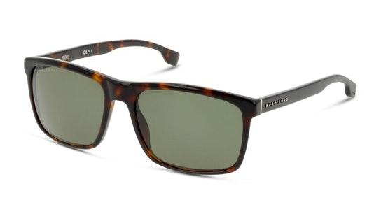 BOSS 1036/S Men's Sunglasses Green / Tortoise Shell