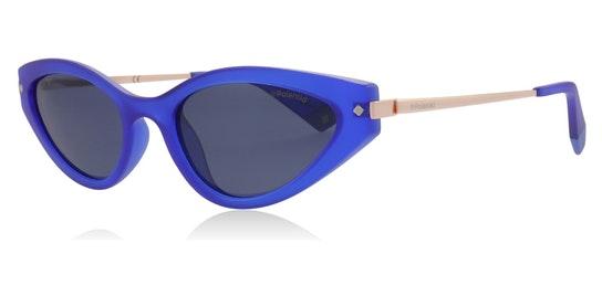 Sleek Cat-Eye PLD 4074/S (PJP) Sunglasses Grey / Blue