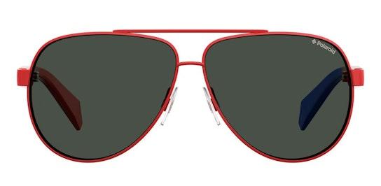 PLD 8034/S Children's Sunglasses Grey / Red