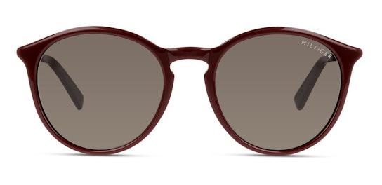 TH 1663/S Unisex Sunglasses Grey / Red