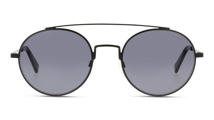 Tommy Hilfiger TH 1664/S Unisex Sunglasses Grey / Black