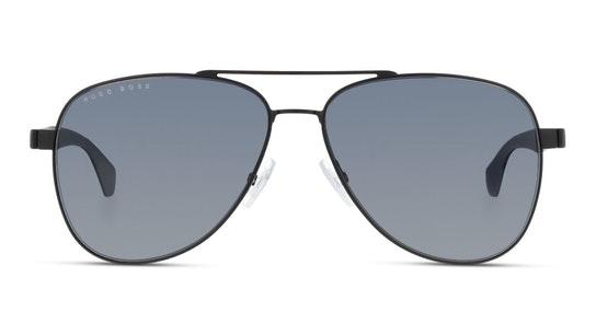 BOSS 1077/S Men's Sunglasses Blue / Black
