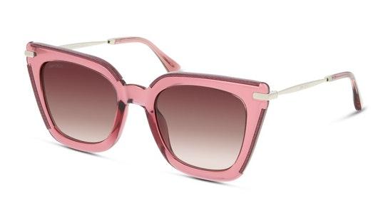 Ciara Women's Sunglasses Pink / Transparent