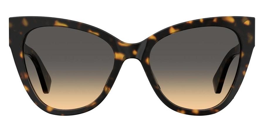 Moschino MOS 056/S (086) Sunglasses Brown / Tortoise Shell
