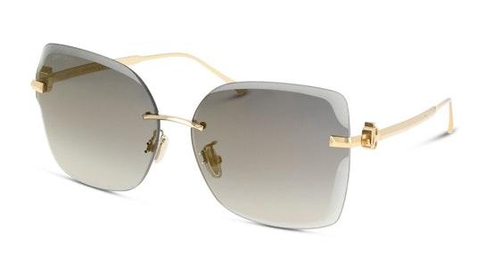 Corina Women's Sunglasses Grey / Gold