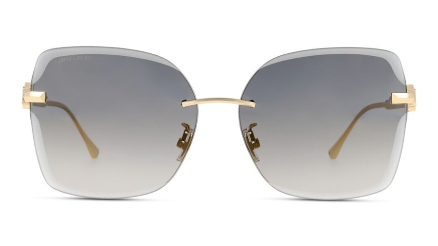 Jimmy Choo Corina Women's Sunglasses Grey / Gold