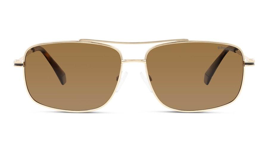 Polaroid PLD 6107/S/X Men's Sunglasses Bronze / Gold