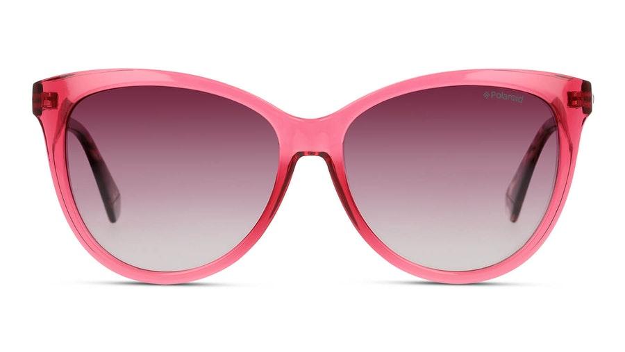Polaroid PLD 6104/S/X Women's Sunglasses Burgundy / Red