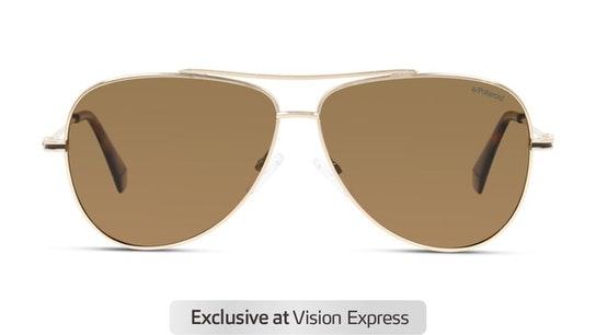 PLD 6106/S Men's Sunglasses Bronze / Gold