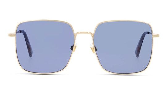 LV 1007/S (2F7) Sunglasses Blue / Gold