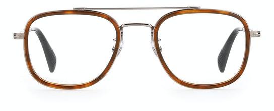 DB 7012 (31Z) Glasses Transparent / Tortoise Shell