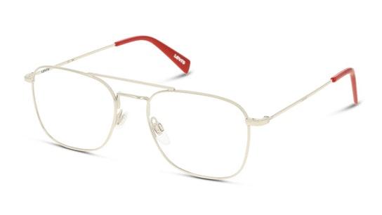 LV 1008 Men's Glasses Transparent / Silver
