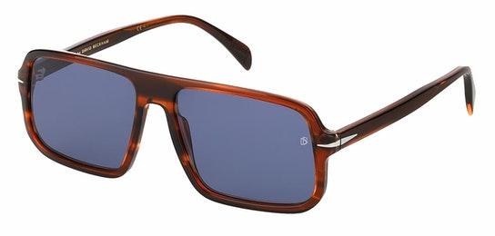 DB 7007/S (EX4) Sunglasses Grey / Tortoise Shell