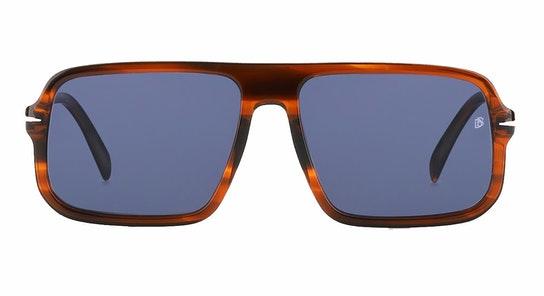 DB 7007/S Men's Sunglasses Grey / Tortoise Shell