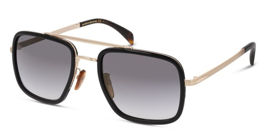 DB 7002/S Men's Sunglasses Grey / Black