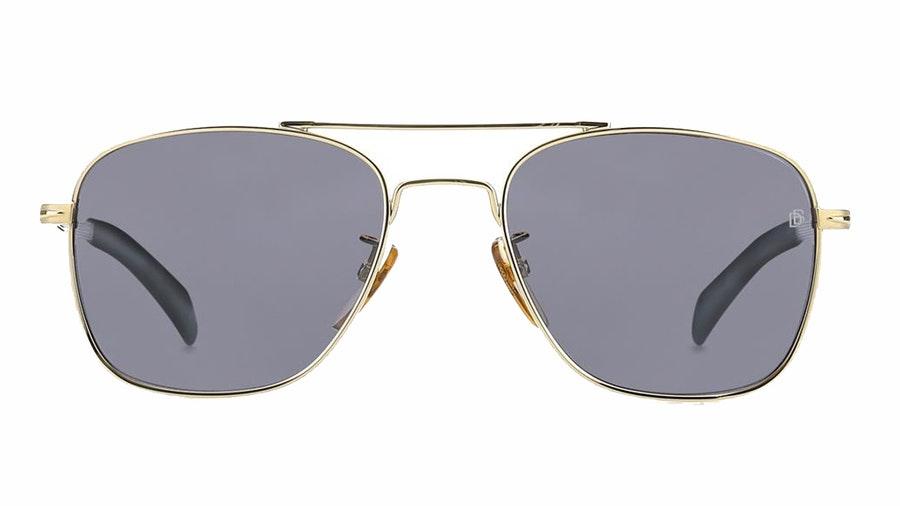 David Beckham Eyewear DB 7019/S (J5G) Sunglasses Grey / Gold