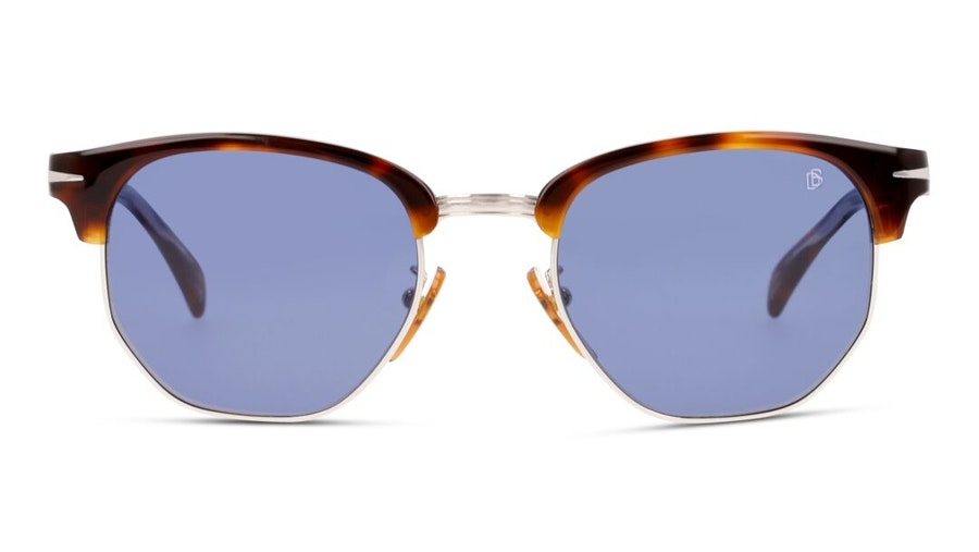 David Beckham Eyewear DB 1002/S (WR9) Sunglasses Blue / Tortoise Shell
