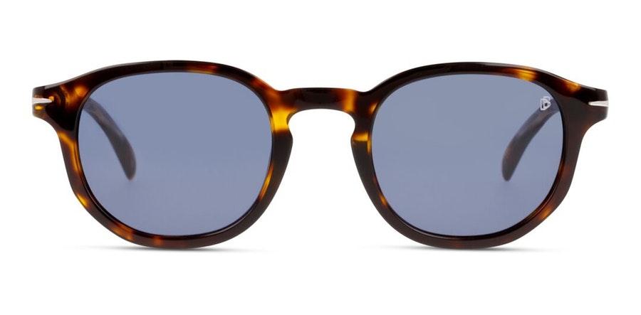 David Beckham Eyewear DB 1007/S Men's Sunglasses Blue / Tortoise Shell