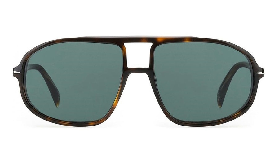 David Beckham Eyewear DB 1000/S (086) Sunglasses Green / Tortoise Shell