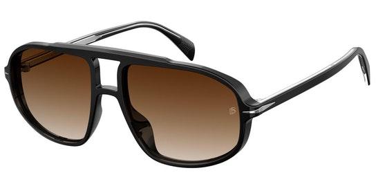 DB 1000/S Men's Sunglasses Brown / Black