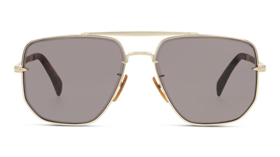 David Beckham Eyewear DB 7001/S Men's Sunglasses Grey / Gold