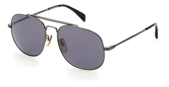 DB 7004/S Men's Sunglasses Grey / Grey