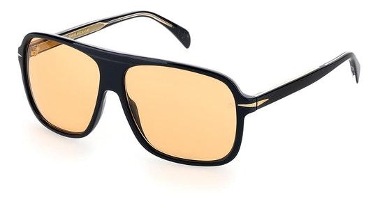 DB 7008/S Men's Sunglasses Orange / Black