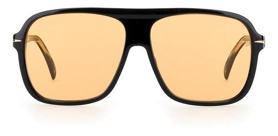 DB 7008/S (807) Sunglasses Orange / Black