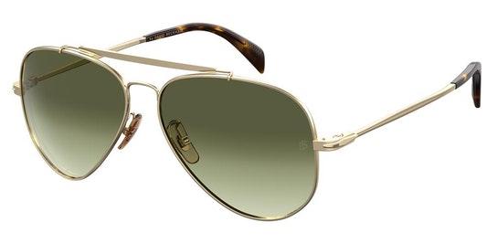 DB 1004/S (J5G) Sunglasses Grey / Gold
