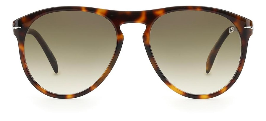 David Beckham Eyewear DB 1008/S (WR9) Sunglasses Green / Tortoise Shell