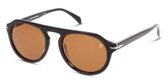 DB 7009/S (2W8) Sunglasses Brown / Grey