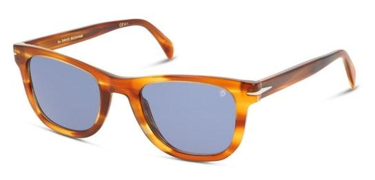 DB 1006/S Men's Sunglasses Blue / Brown