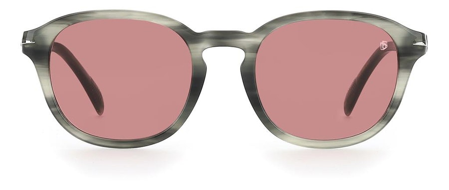 David Beckham Eyewear DB 1011/F (2W8) Sunglasses Red / Grey
