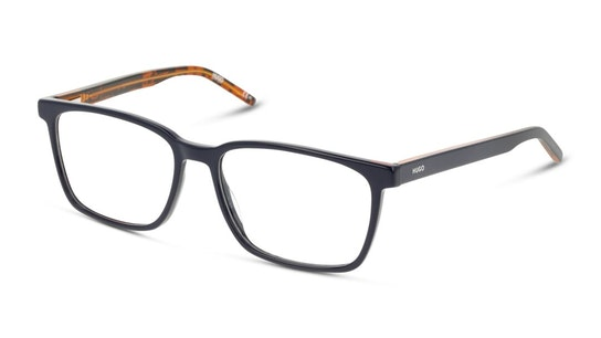 HG1074 (Large) Men's Glasses Transparent / Blue