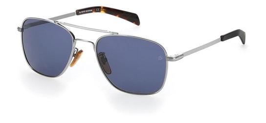 DB 7019/S (6LB) Sunglasses Blue / Silver