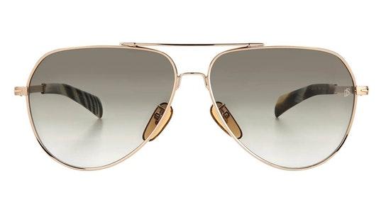 DB 7031/S (F6W) Sunglasses Green / Gold