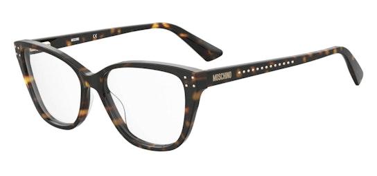 MOS 583 Women's Glasses Transparent / Tortoise Shell