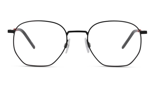 HG 1121 Men's Glasses Transparent / Black