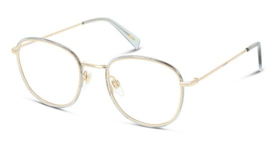 LV 1027 Women's Glasses Transparent / Gold
