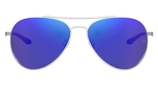 UA 0007/G/S Men's Sunglasses Blue / Silver