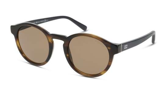 Bio-Based TH 1856/RE/S Men's Sunglasses Brown / Tortoise Shell
