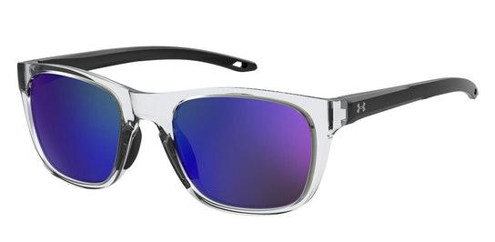 UA 0013/G/S Men's Sunglasses Blue / Transparent