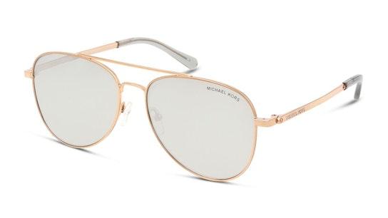 MK 1045 Women's Sunglasses Grey / Rose Gold