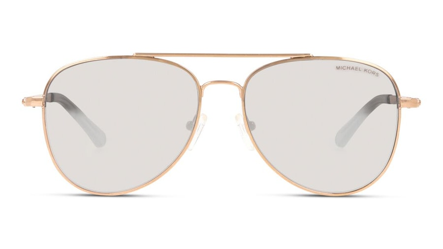 Michael Kors MK 1045 (11086G) Sunglasses Grey / Rose Gold