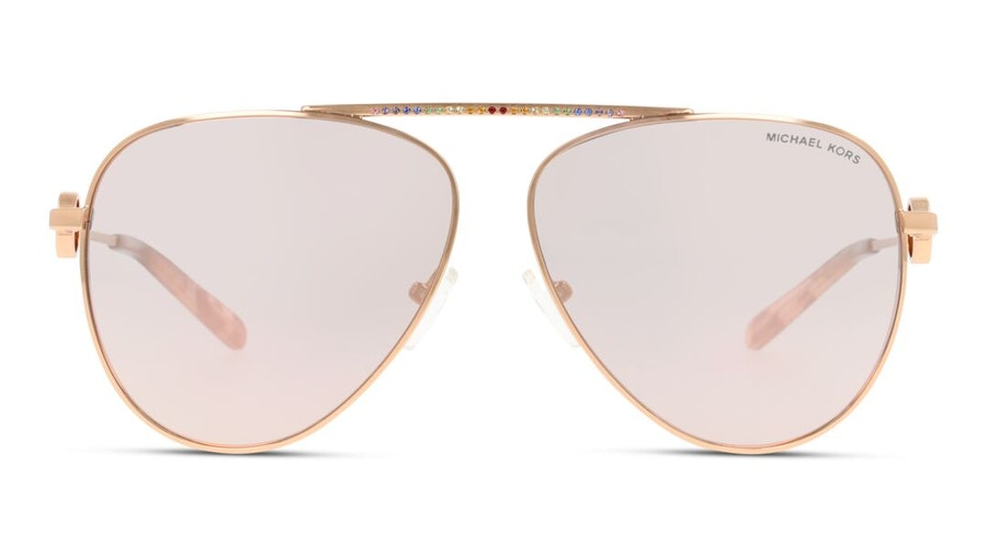 Michael Kors Salina MK 1066B Woman's Sunglasses Pink/Gold