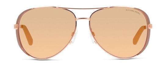 MK 5004 Women's Sunglasses Brown / Rose Gold