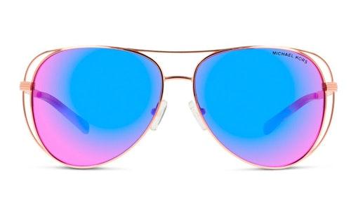MK 1024 Women's Sunglasses Pink / Gold